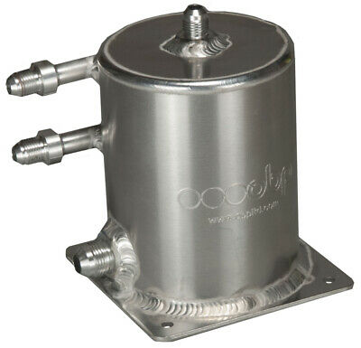 OBP 1 Litre Base Mount Fuel Swirl Pot with JIC Fittings