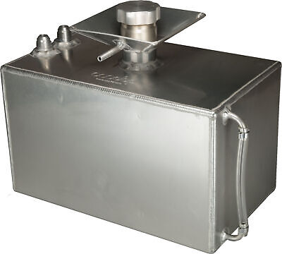 OBP 3 Gallon Square Aluminium Foam Filled Fuel Tank with JIC Fittings and 50m...