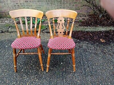 Wooden pub chairs x19