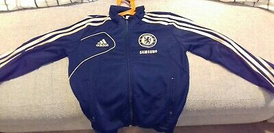 Official Adidas Chelsea FC Football boys zip up 7-8 Excellent Condition