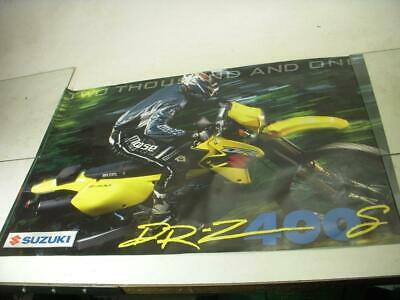 2001 Drz400 400 Suzuki Motorcycle Poster Used Po-260A