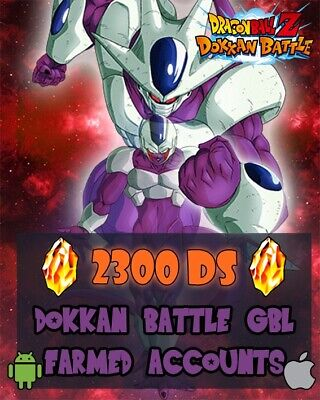 ⭐PICCOLO BANNER⭐DOKKAN BATTLE GBL 2300 DS farmed account IOS/ANDROID