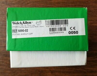 Welch Allyn Tycos Blood Pressure Gauge Cuff Sphygmomanometer DS66 5090-02 CE0050