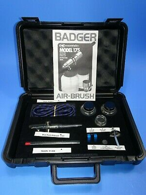 Blue Point Professional Air Brush Set Model No. BF175T NOS!
