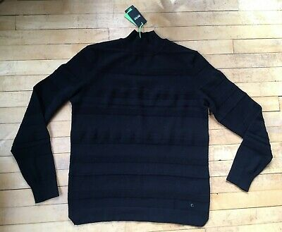 Brand new with tags black high-necked Hugo Boss jumper size 'small'