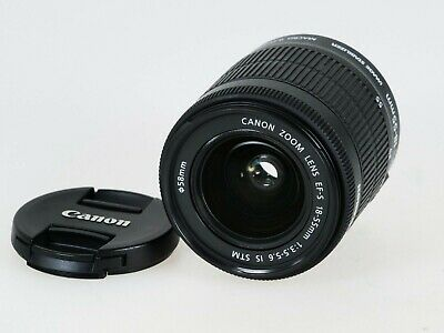 CANON Zoom EF-S 18-55mm F3.5-5.6 IS STM with Macro
