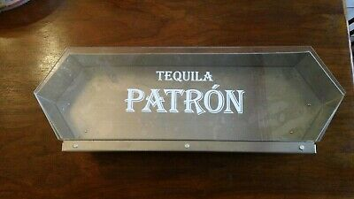 Patron Tequila Metal Condiment/Fruit Tray