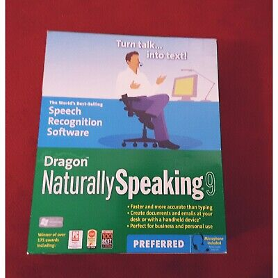 Dragon Naturally Speaking 9 Preferred (Old Version)