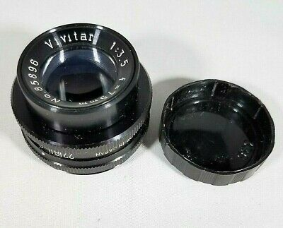 Vivitar Enlarging Lens 50mm 12.8 Vintage w/Box Camera Lens