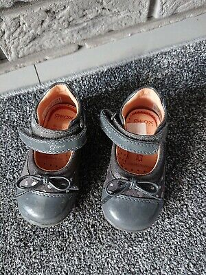 Baby GIRL GEOX First SHOES SIZE 20 (UK 4 ) Ex Cond