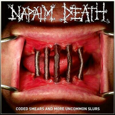 NAPALM DEATH - Coded Smears And More Uncommon Slurs DCD New, Grindcore, CARCASS