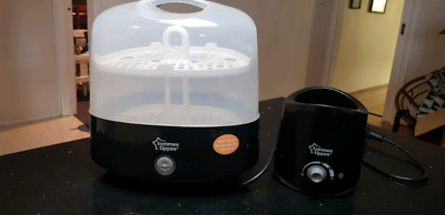 Tommee tippee electronic bottle sterilizer and warmer BLACK
