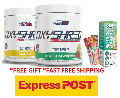 Oxyshred Ehplabs/Thermogenic Fat Burning Weight Loss/ Twin Pack Express
