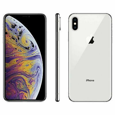 Brand New - Apple iPhone XS Max 64GB - Silver Carrier Locked to Sprint