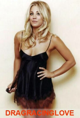 "Gorgeous ""Big Bang"" Actress ""Kaley Cuoco"" SEXY ""Pin Up"" PHOTO! #(8b)"