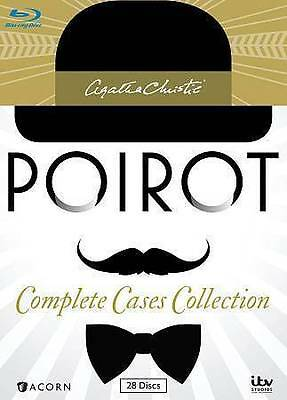 Agatha Christie's Poirot: Complete Cases Collection [Blu-ray]