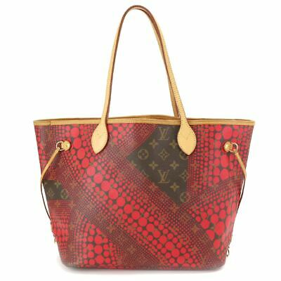 LOUIS VUITTON Monogram Wave Neverfull MM Tote Bag M40686 Yayoi Kusama 90093581