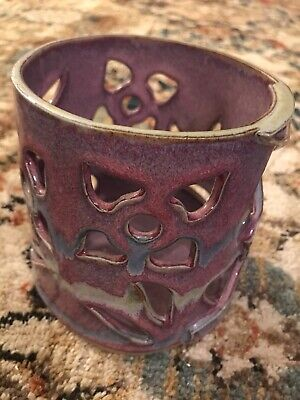 Bay Pottery Broadway Virginia Candle Holder