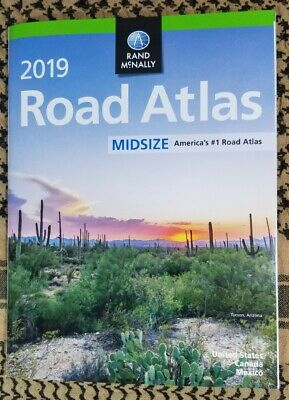 Rand McNally 2019 Midsize Road Atlas United States Atlases and Maps Paperback