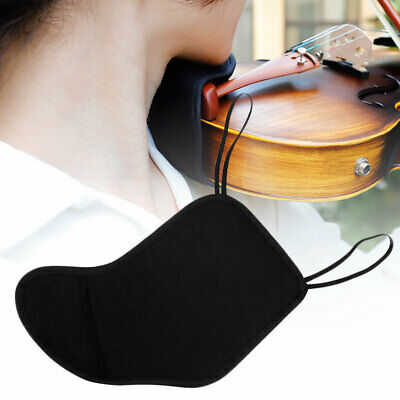 Sn_ 4/4-4/3 Violin Fiddle Chin Shoulder Rest Soft Pad Cover Cushion Protector