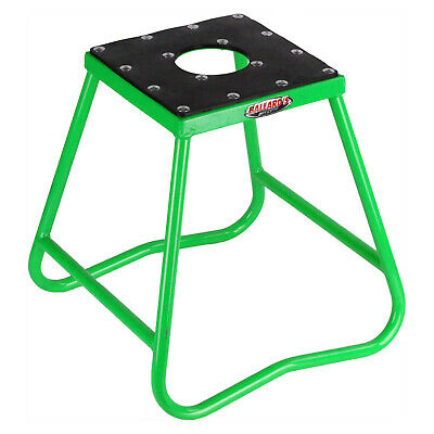 Ballards NEW MX Dirt Bike Motorbike Motorcycle Kawasaki Static Green Race Stand