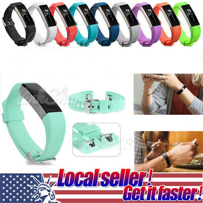 US New Soft Replacement Silicone Wrist Band Strap Clasp Buckle For Fitbit Alta x