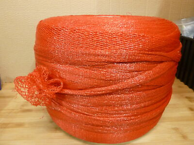 "12"" x 6233' Net Tubing/Protective Netting - Red (1 Roll)"