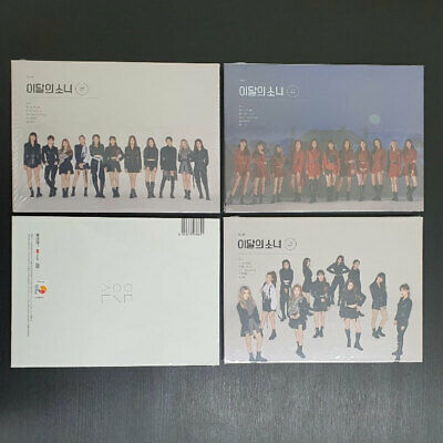 Monthly Girl Loona [#/Hash] 2nd Mini Album CD+Photobook+Photocard+Poster K POP