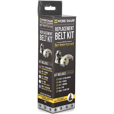 Official Replacement Belt Kit for the Work Sharp Knife and Tool Sharpener Ken