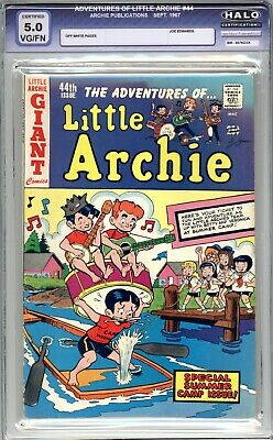 Adventures Of Little Archie #44  HALO Graded 5.0 (VG/FN) 1967 - Silver Age
