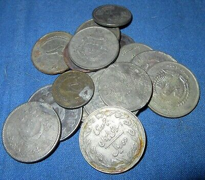 100 grams Old Coins Grab Bag Pakistan Lot01 Variety Approx 20 Each