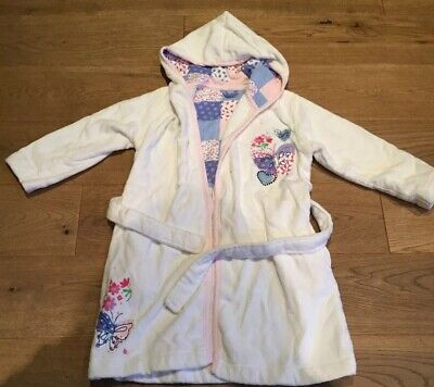 Girls Dressing Gown Age 4/5 M&S BNWOT