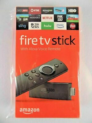 Amazon Fire TV Stick 2nd Generation With Alexa Voice Remote (2019 Model) NEW