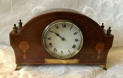 Lovely Quality Antique French Mantel Clock For Repair
