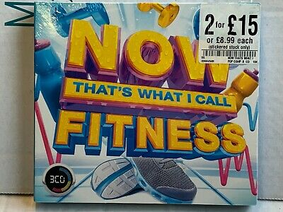 Now That's What I Call Fitness - CD - New & Sealed - WC1