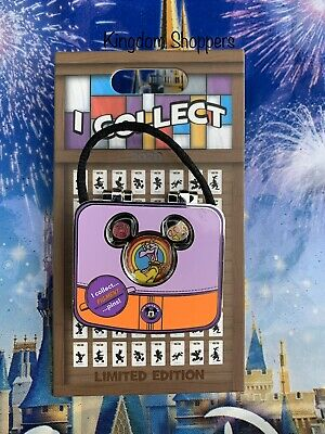 2020 Disney Parks World I Collect... Figment LE Hinged Trading EPCOT Pin