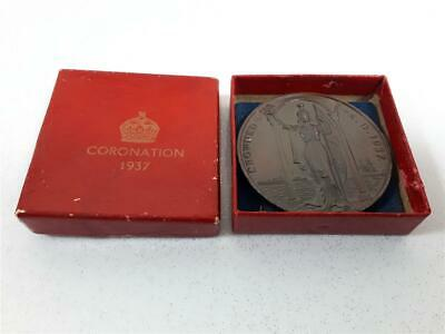 Commemorative Bronze Medal - Coronation of King George VI (1937)