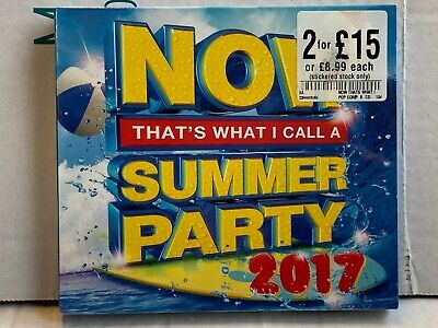 Now That's What I Call A Summer Party 2017 - CD - New & Sealed - WC2