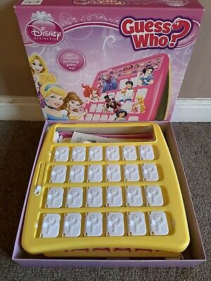 Disney Princess Guess Who Game By Winning Moves Age 3+