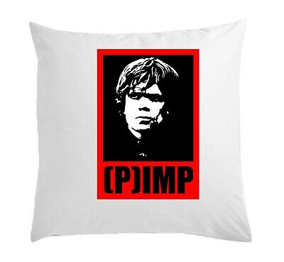 Game Of Thrones Tyrion Lannister Pimp White Pillow Case Cushion Cover 40 cm