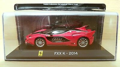Ferrari FXX K (2014) scala 1/43 Edicola serie Supercars GT Collection