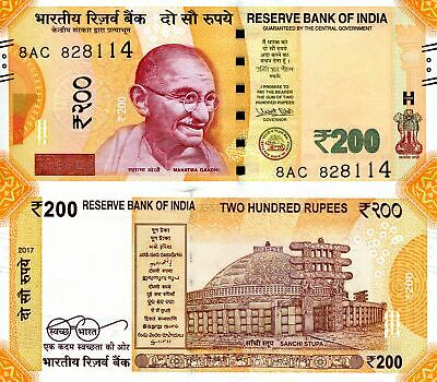INDIA 500 Rupees Banknote World Paper Money UNC Currency Pick p106b 2016 Gandhi