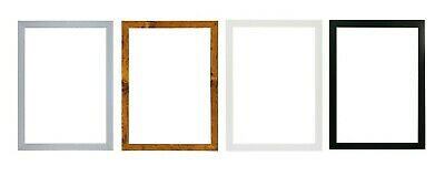 A2 A3 A4 A5  Black Photo Frame White Picture Frame  Poster Frames Walnut 20mm