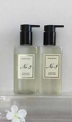Aldi No.3  Pomegranate Luxury Hand Wash  Hotel Collection 2xBody Wash BNew