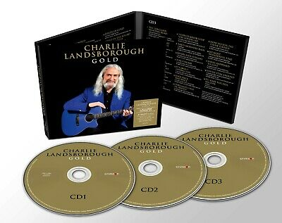 Charlie LANDSBOROUGH GOLD New Deluxe Edition 3CD Digipack - Released 21/02/2020