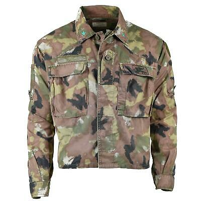 Genuine Italian Army Navy San Marco Acu Jacket Combat Field Shirt Bdu Multi-Camo