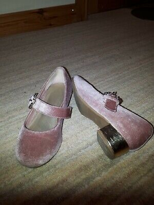 Monsoon Girls Party Shoes Size 10