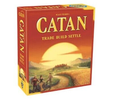 New Settlers of Catan Board Game 5th -Free Shipping!