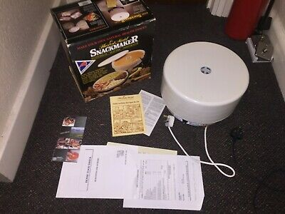 Vintage Harvest Maid Snackmaker Dehydrator Complete Boxed ***Please Look***👍