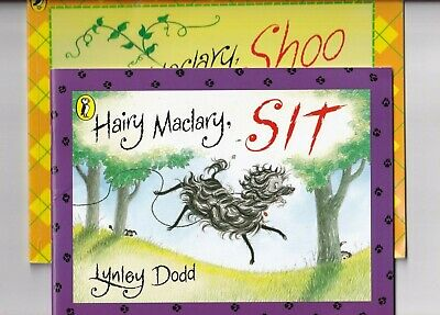 HAIRY MACLARY SIT & HAIRY MACLARY SHOO 2 paperback books by LYNLEY DODD